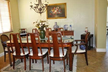 Clean, beautiful home, close to the outlet store - San Jacinto - Inap sarapan