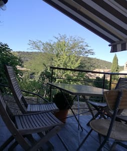 Vue sur les collines - Saint-André-de-Roquepertuis - Flat