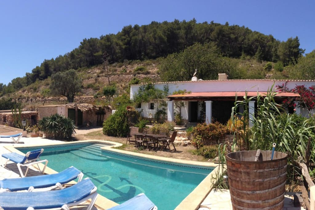 Ibiza lovely country villa wpool houses for rent in ibiza - Ibiza house renting ...