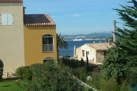 Studio vue mer. 50m plage et port.  - Six-Fours-les-Plages - Apartment