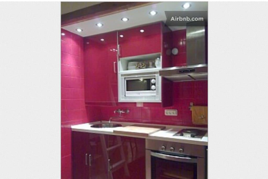 Luxurious kitchen.