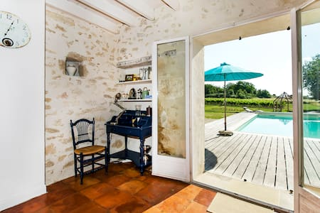 Little paradise amidst vineyards ! - Soussac