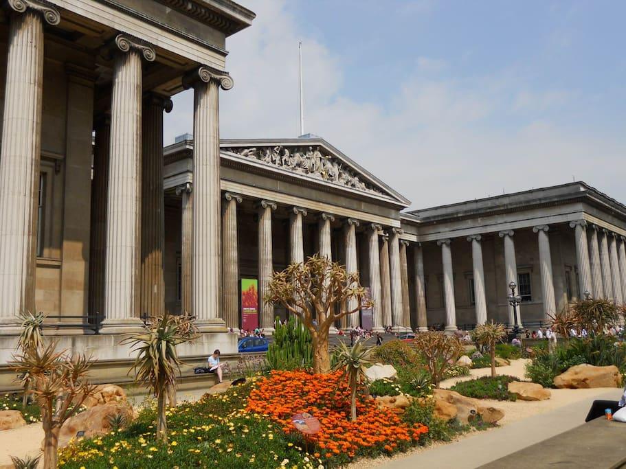 British Museum is 15min walk.