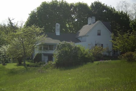 1890 FarmHouse on BlueRidge Parkway - Kisház