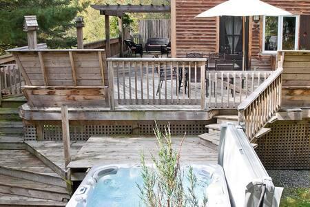 Ski and spa cottage - Magog - Talo