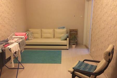 Комната не далеко от метро Рыбацкое - Appartement