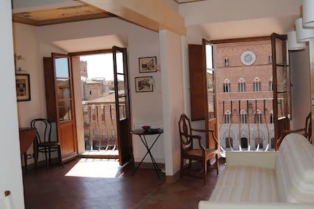 I Balconcini di Piazza del Campo - Siena - Wohnung