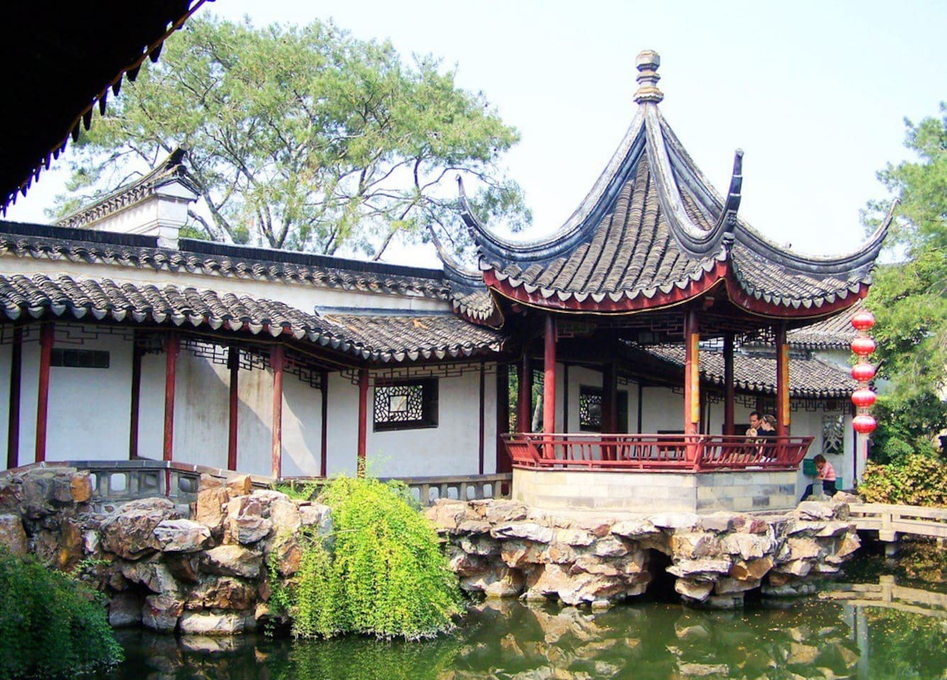 Heart Location of Suzhou Old Town