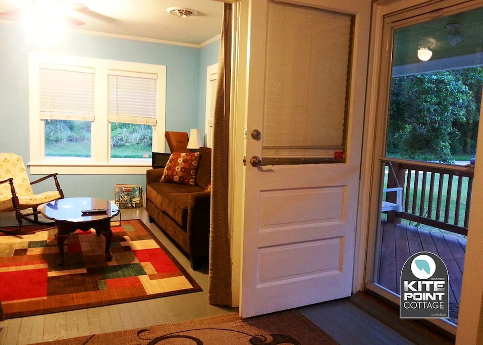 Relax and enjoy the open rooms with plenty of natural light.