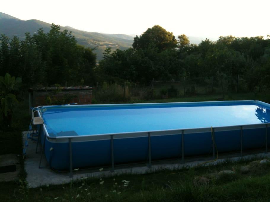 piscina e panorama