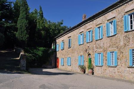 VILLA IN THE HEART OF TUSCANY - Pomarance - Villa