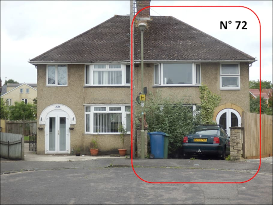 this is the house in KELBURNE ROAD, OXFORD OX4 3SH