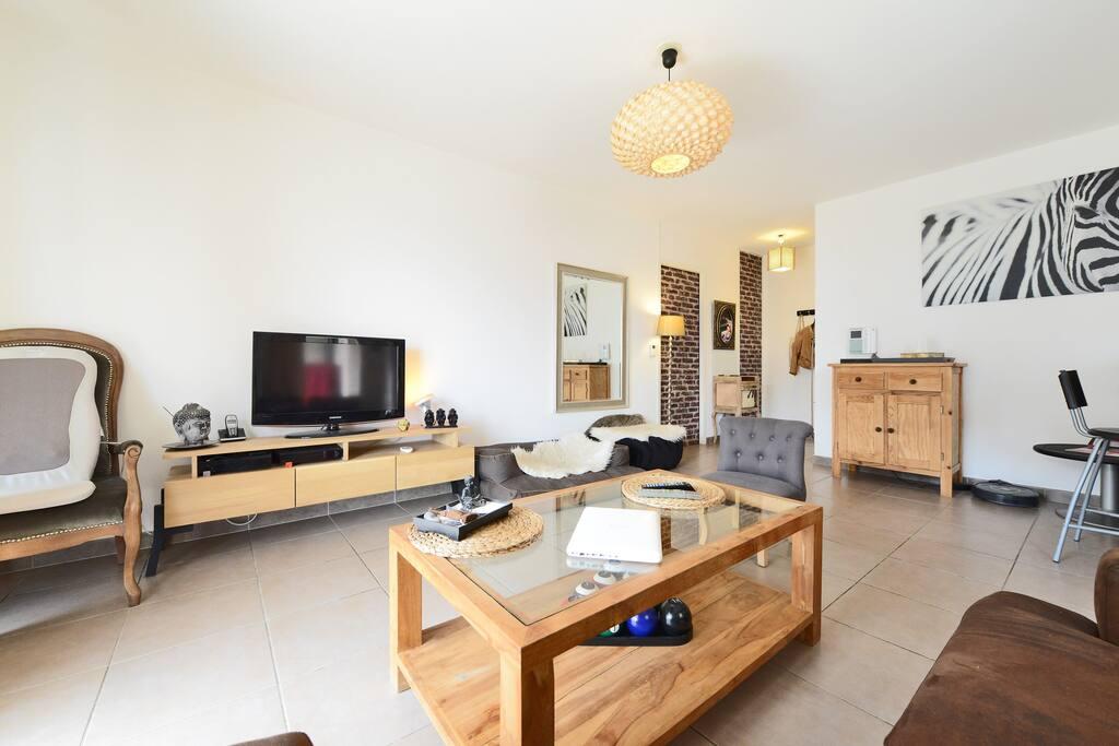 Chambre avec petit déj et terrasse