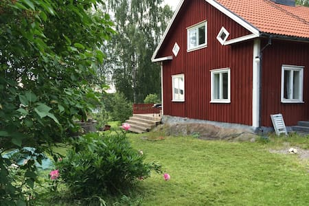 Cabin close to lake and forest. - Stuga