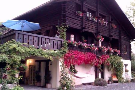 chambre dans chalet, vue lac - Saint-Eustache