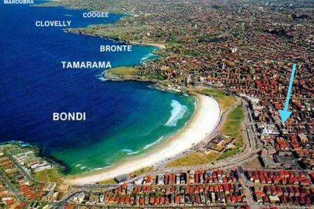 Modern & Comfortable Bondi Beach Pad - Bondi Beach - Apartment
