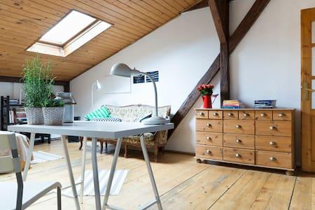 wonderful attic in Kraków heart - Cracovia - Appartamento