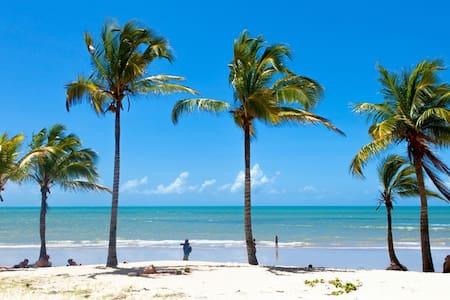 Relax tropical garden 200m praia - Casa