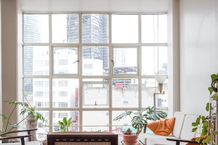 Lots of light & views in Condesa MX - Mexico City - Apartment