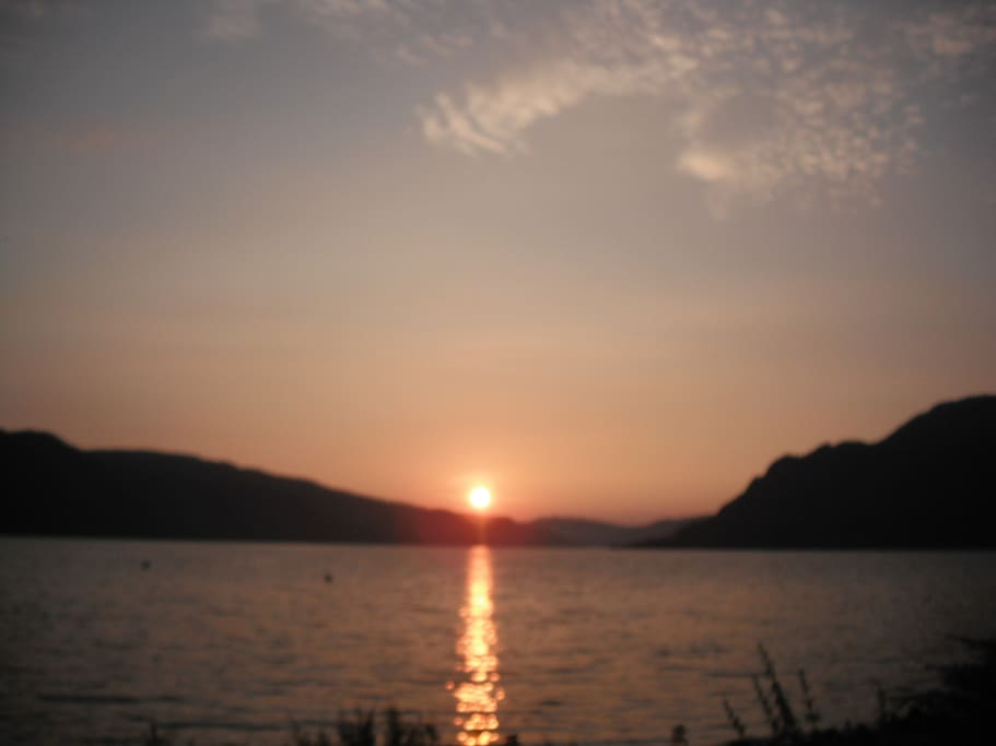 Sunset over Loch Duich