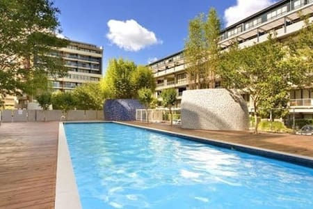 MasterBedroom with ensuite, pool & gym, Alexandria - Alexandria - Apartment