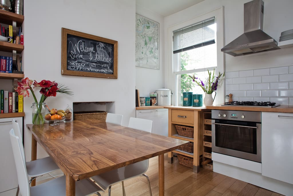 Kitchen Diner, have our breakfast or prepare your evening meal here, dishwasher and microwave too 16sqm