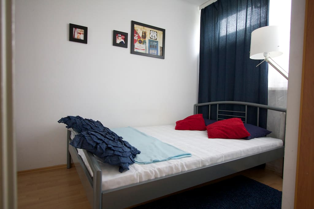New (30.06.2014) very comfortable double bed
