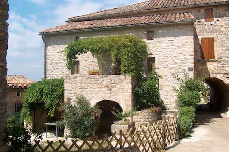 ancien mas en pierre avec jardin - Orgnac-l'Aven - House