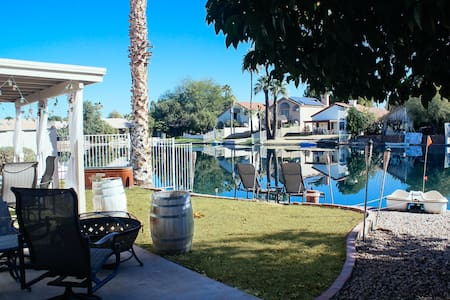 Cozy Lakefront in Downtown Chandler - Casa