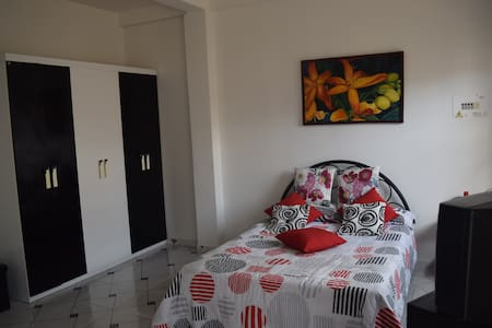 Independent studio, remodeled, just 3 minutes away from Leticia's central park. Close to the port and the airport. Perfect to spend an unforgettable holiday in the Amazon Region.