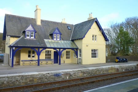 Helmsdale Station House - Andre