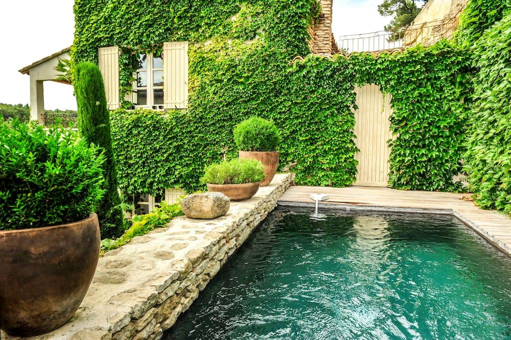 Petit paradis avec piscine Provence
