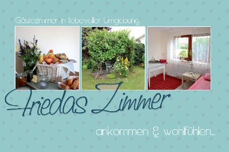 Friedas Zimmer, ankommen und wohlfühlen... - Pfalzgrafenweiler