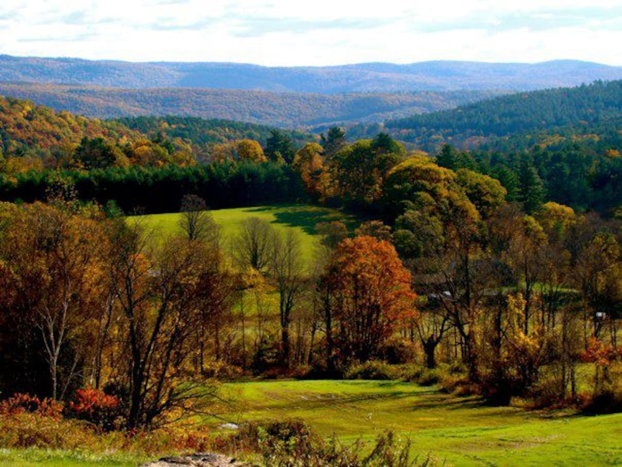 View from the property during fall foliage.