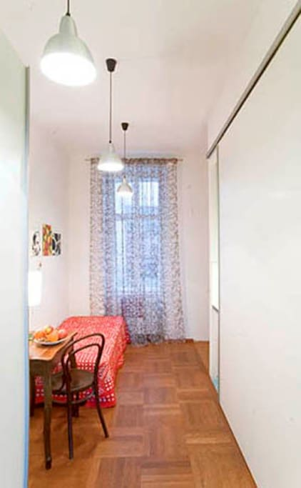 City Apartment IIII - kitchen closed with breakfast nook and it looks like an extra bedroom