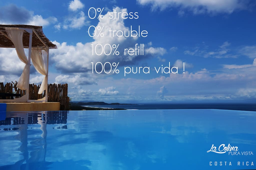 refill of the soul at La Colina Pura Vista