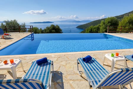 Villa Andromeda - Stunning view on the Ionian Sea - Sivota