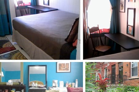 Petite Inn-Style Room in Historic Pullman, Chicago - Rumah