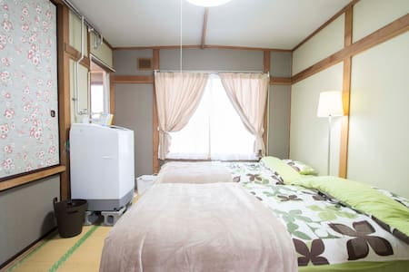 Wifi free w/AC shiny room Subway 3 min - Sapporo - Apartment