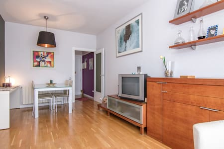 2bdroom flat with parking&terrace - Barcelona - Apartment