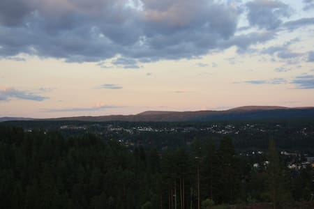 New cottage with fantastic view  - Kongsberg - Casa