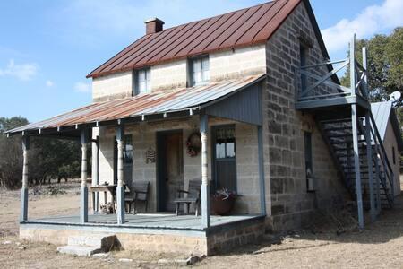 Flag Creek B&B at Masser Ranch - Country Property - Fredericksburg - Blockhütte