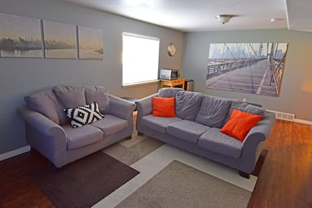 Luxury Downstairs Apt w/ Lots of Entertainment - Lehi - Lejlighed