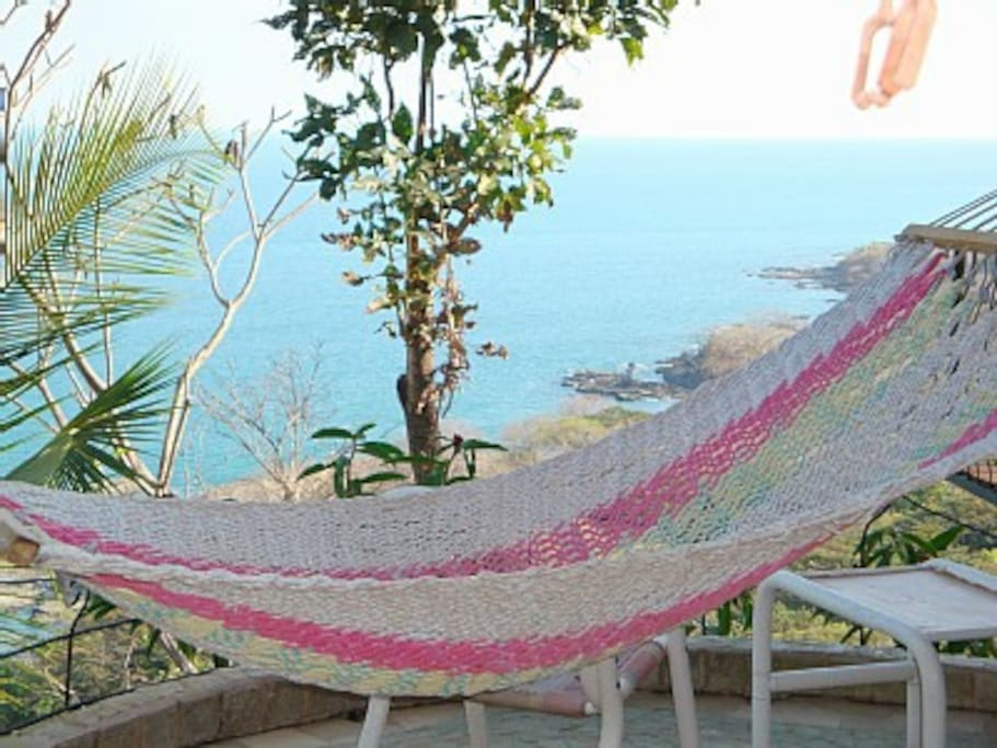 Hammock on the terraze