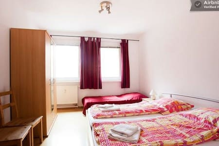 Spacious 3-room apartment in center