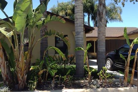 Private Room & Bath Close to UCSB.  - Santa Barbara