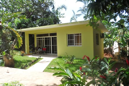 NEW GARDEN BUNGALOW by the BEACH - Puerto Plata - Hus