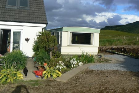 Caravan sleeps 5 £70-83per night - Portree  - Chalet