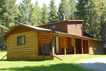 Secluded, 2 Bedroom Log Cabin - Maison