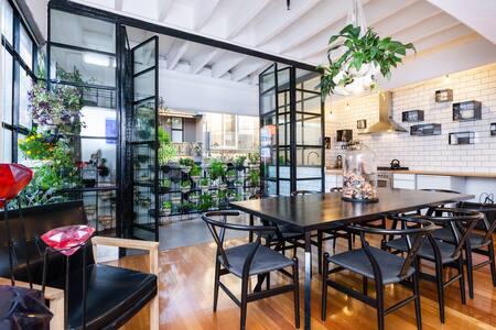 Artist Warehouse Apartment Fitzroy - Fitzroy - Apartment